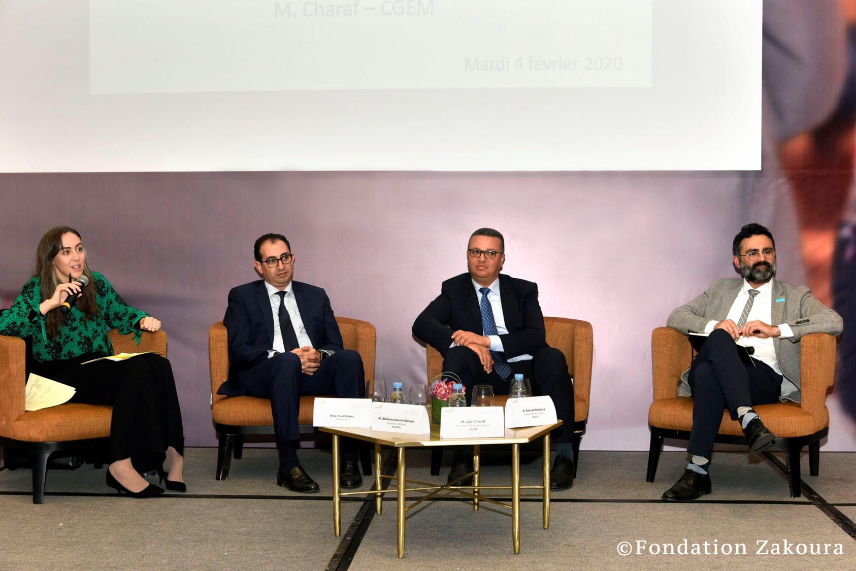 Table Ronde: PPP et Société civile pour un Maroc meilleur