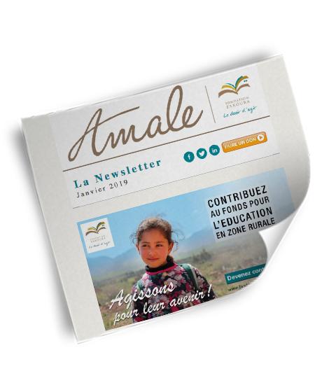 Newsletter Amale Janvier 2019