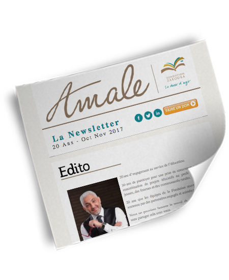 Newsletter Amale - 20 ans