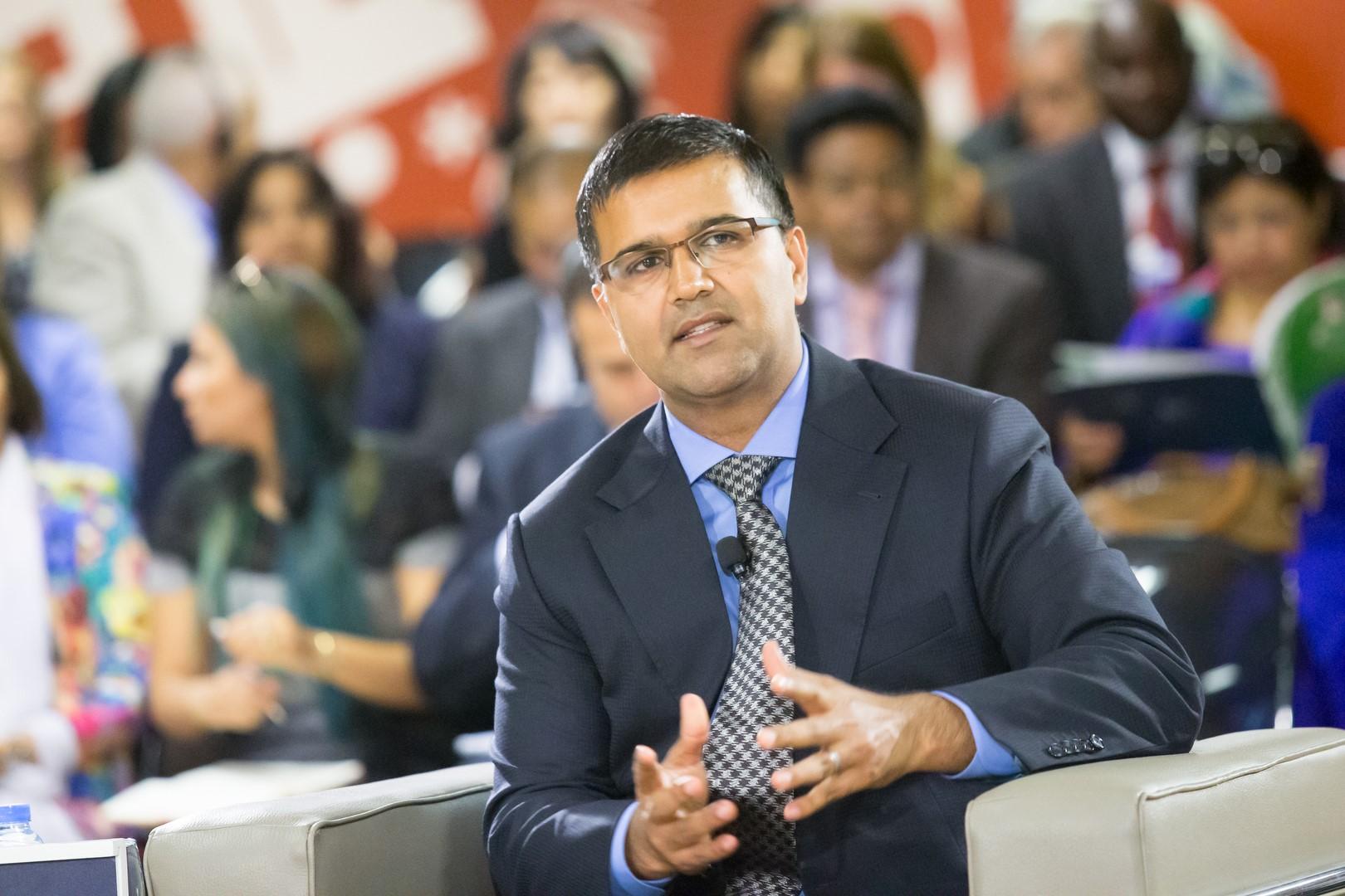 Témoignage de Vikas Pota, Chairman World Education