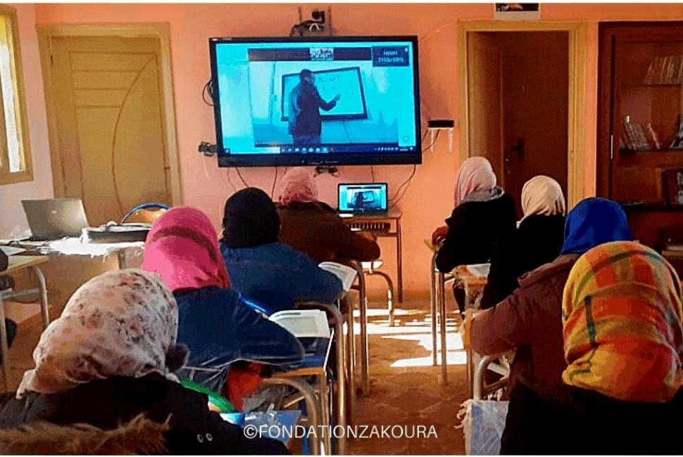 Lancement du CORP - 1er COllège Rural numérique de Proximité au Maroc, l'innovation au service de l'inclusion