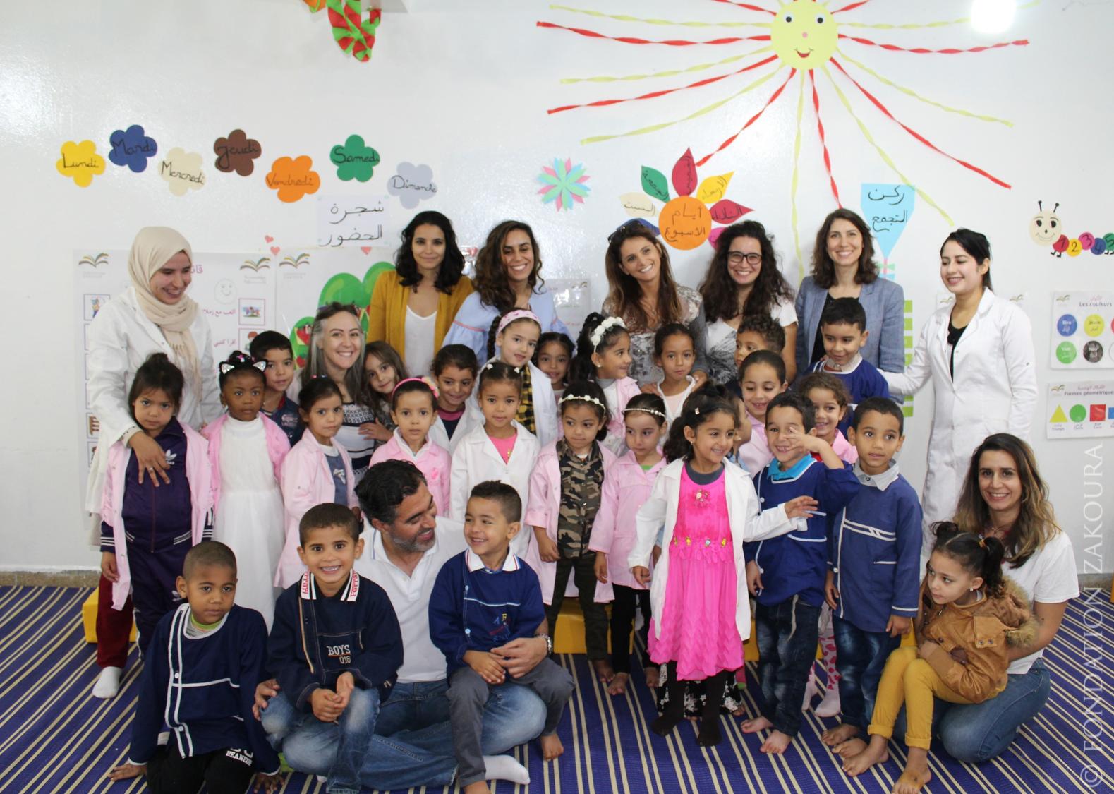 Inauguration de la 1e école de préscolaire financée par les #PreschoolHeroes75 !