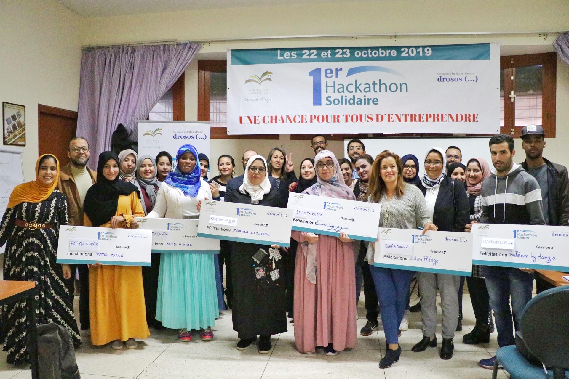 1er Hackathon solidaire pour la Fondation Zakoura