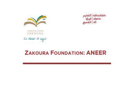 ANEER dans le rapport « Beyond School Walls : Inspiration from Disruption » publié par Education Above All Foundation