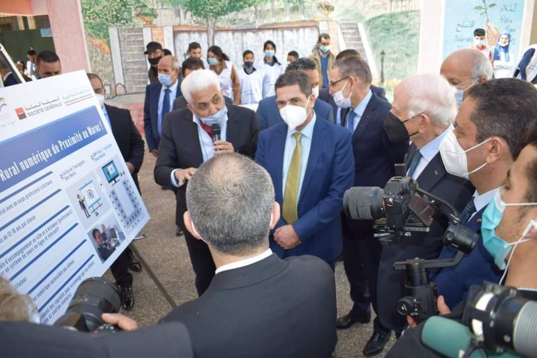 Visite inaugurale du 1er CORP au Maroc