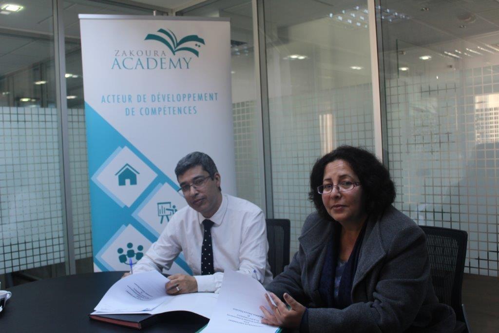 Zakoura Academy aux côtés d'Entr'elles Entrepreneures
