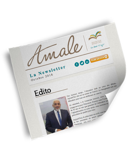 Newsletter Amale Octobre 2018