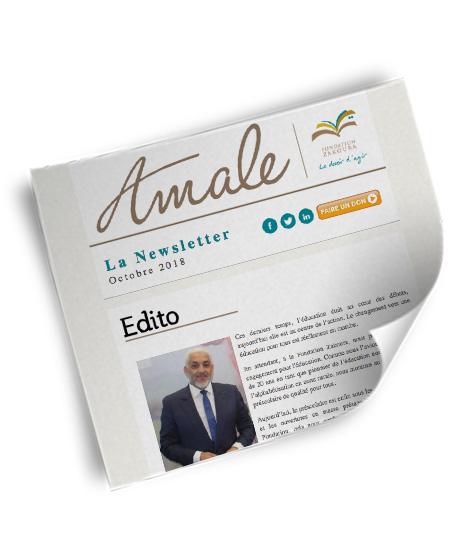 Newsletter Amale Octobre 2018