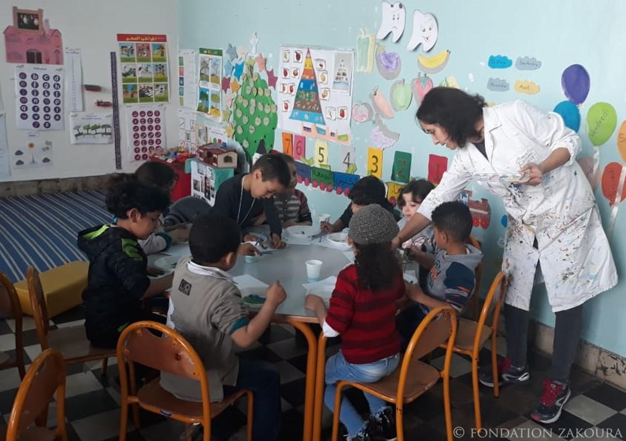 Place à l'éveil artistique en éducation préscolaire