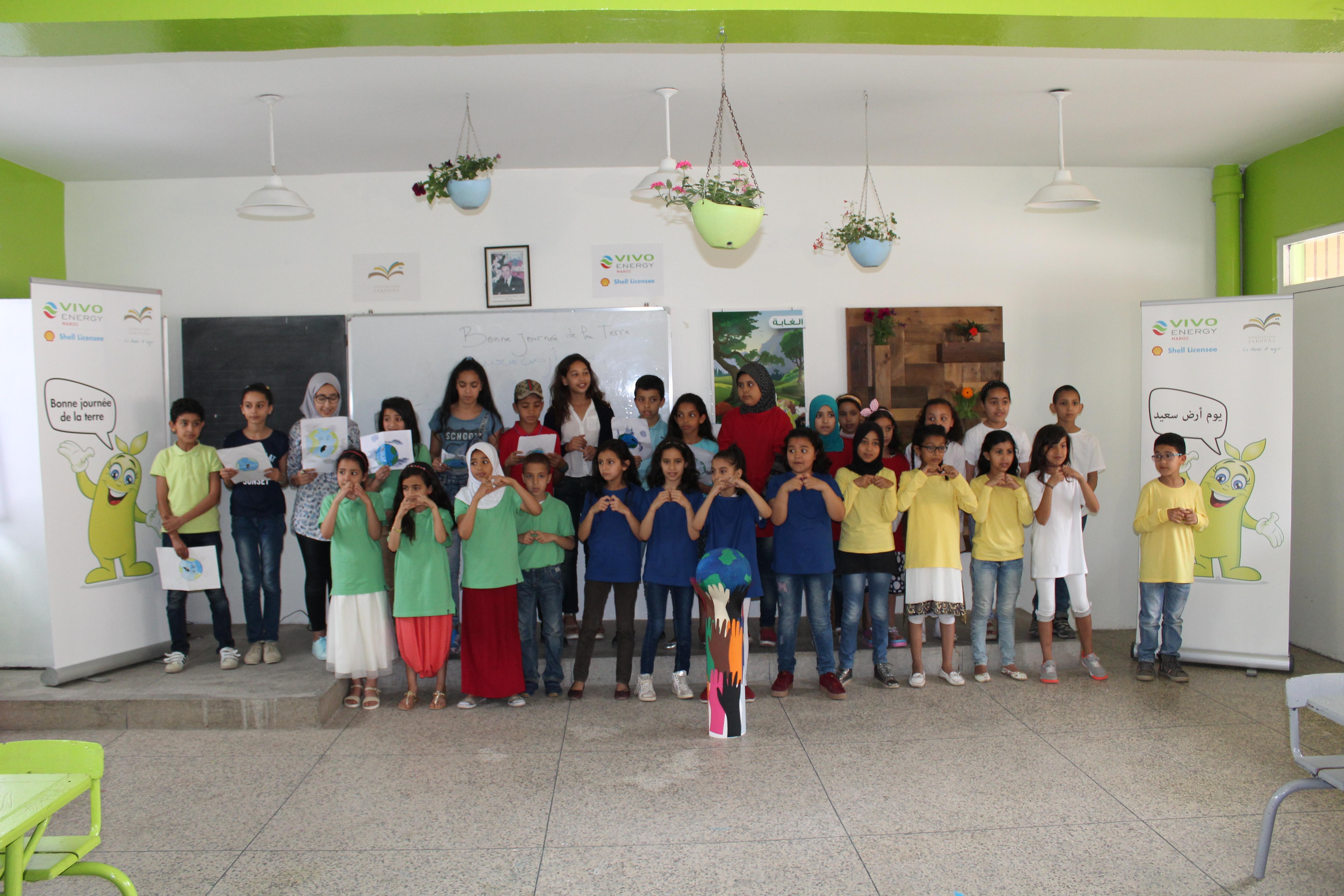 La Fondation célèbre la Journée de la Terre