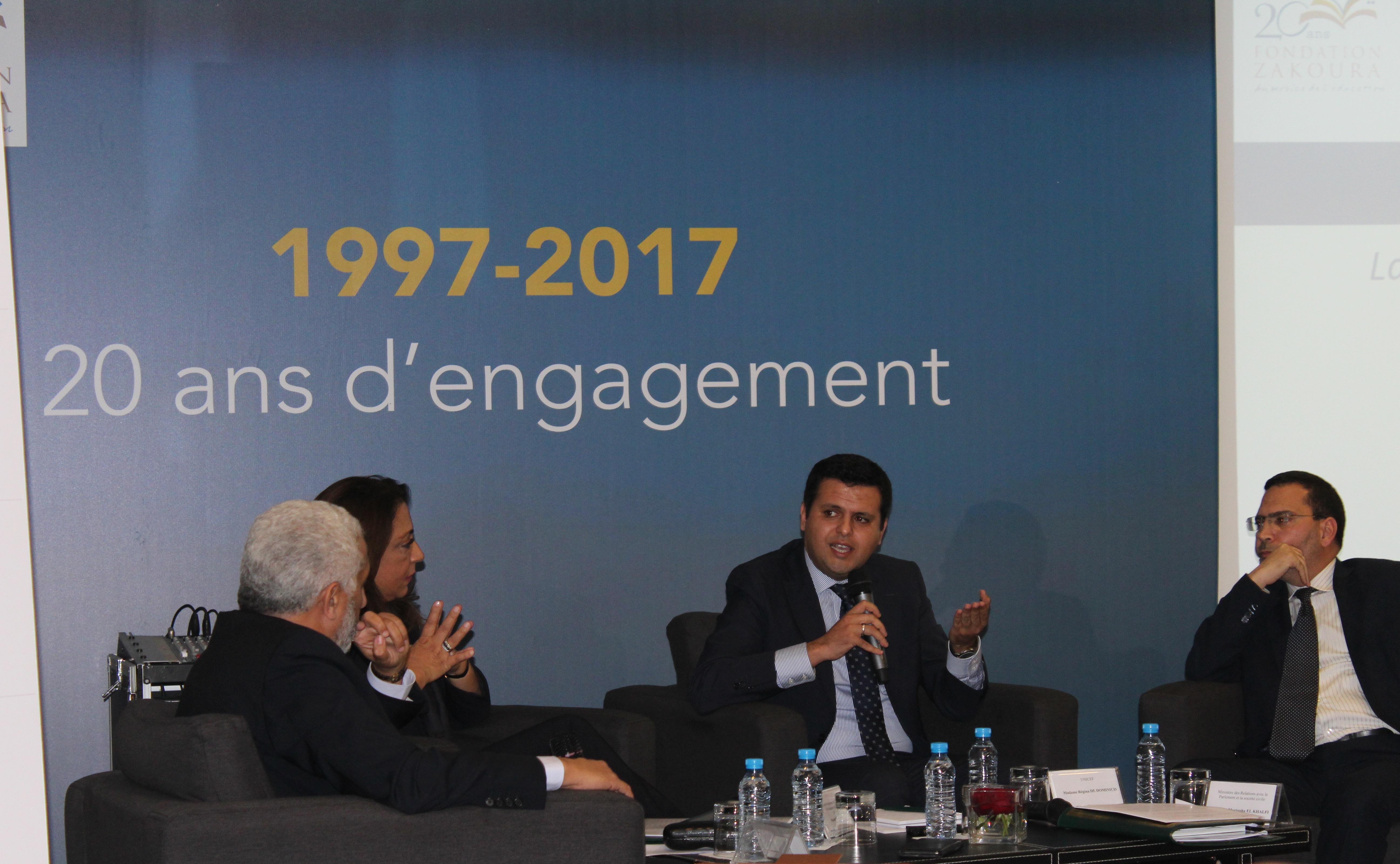 Table ronde autour du Pacte pour une Education Préscolaire de Qualité pour Tous