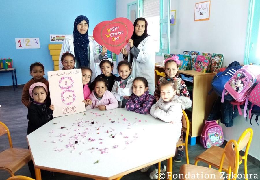 8 mars - Journée internationale des droits de la femme dans nos écoles