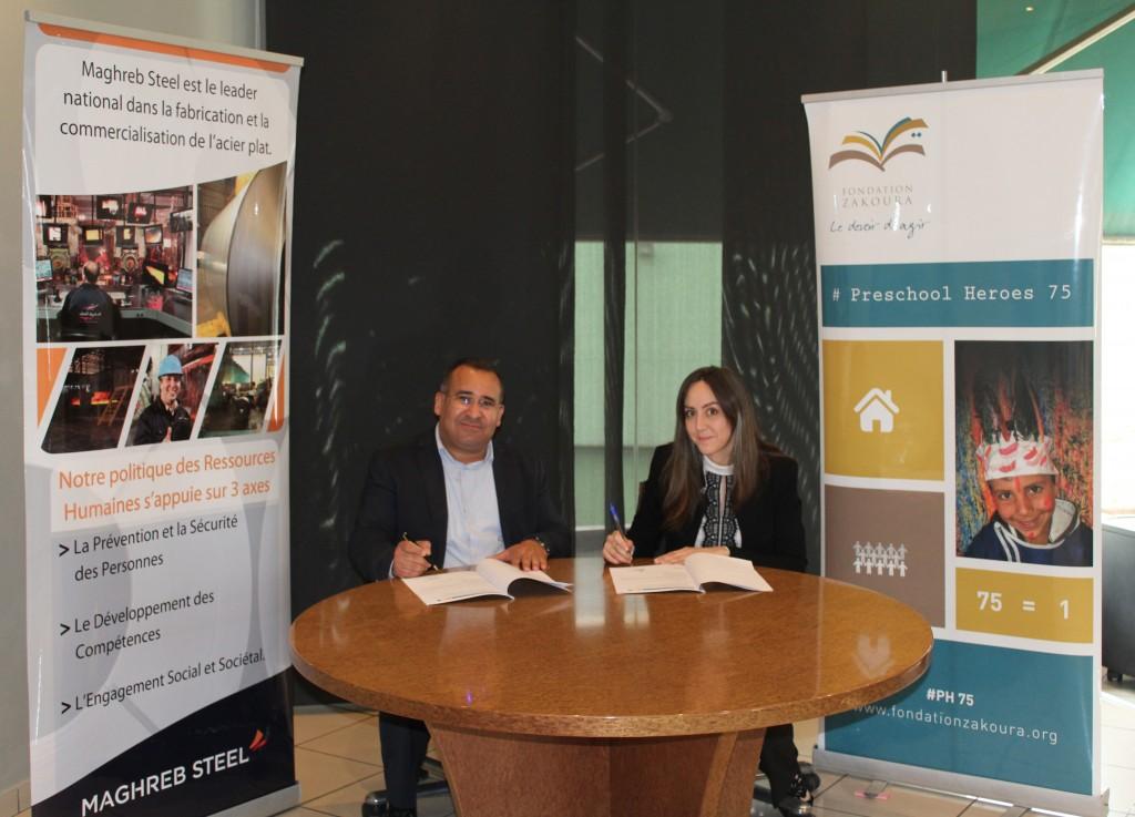 Maghreb Steel adhère à # Preschool Heroes 75 !