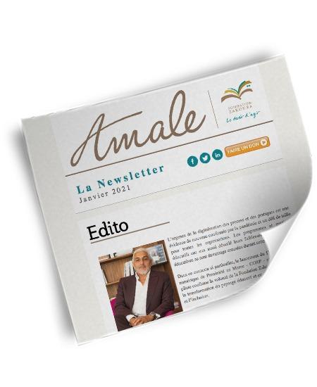 Newsletter Amale Janvier 2021