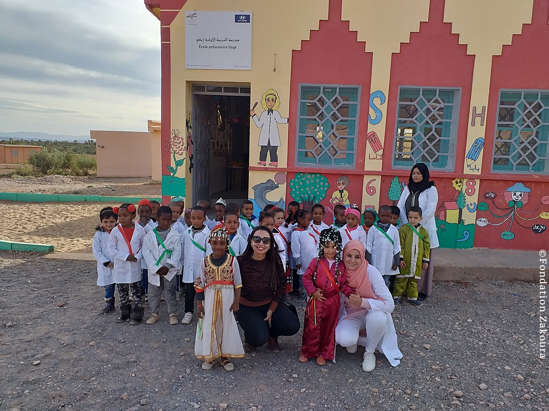 Inauguration d'une nouvelle école préscolaire en partenariat avec Hyundai