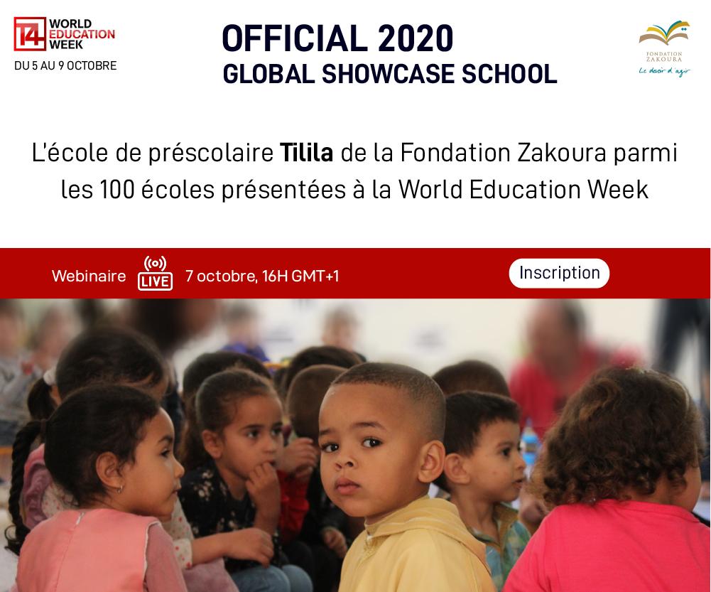 Le préscolaire communautaire ANEER à La World Education Week !