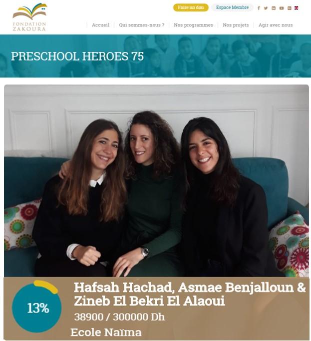 Un trio d'amies lance une nouvelle campagne #Preschool Heroes !