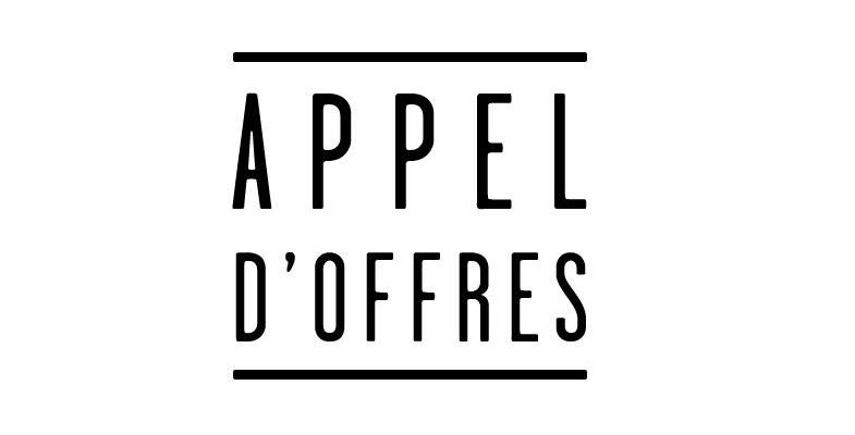 Appels d'offres