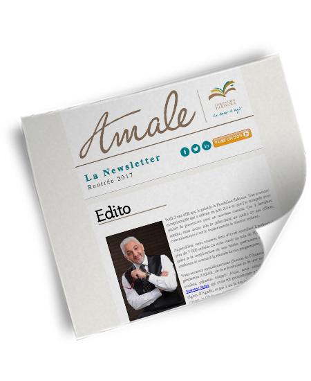 Newsletter Amale - Rentrée 2017