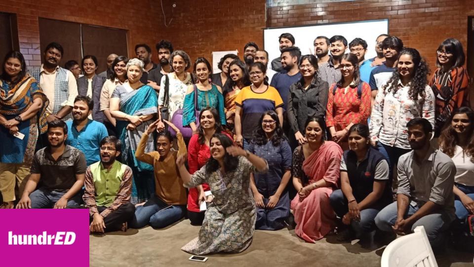 ANEER de la Fondation Zakoura au HundrED GLOCAL India