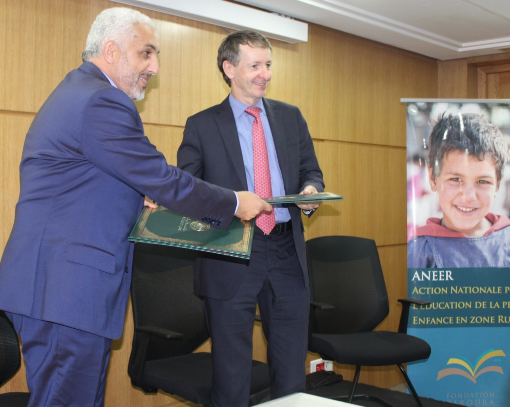 Ouverture de 2 nouvelles écoles ANEER en partenariat avec la Fondation Lydec !
