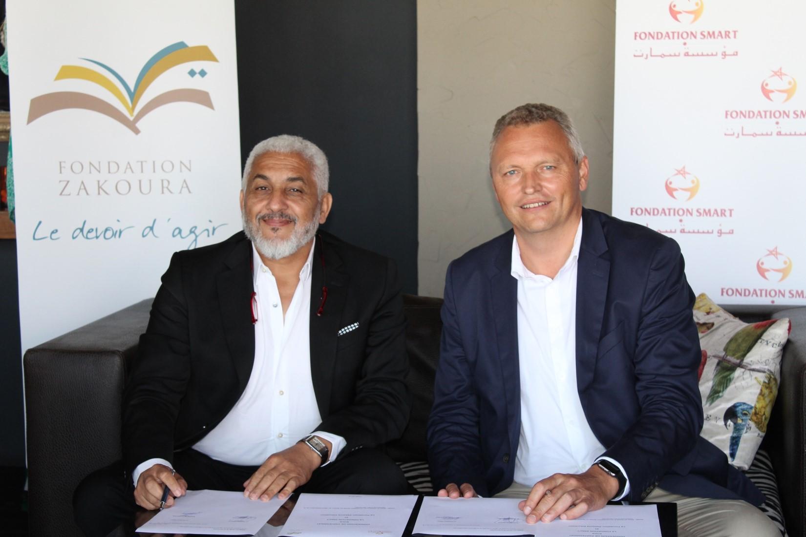 La Fondation SMarT et la Fondation Zakoura lancent un incubateur socio-économique à Ain Harrouda