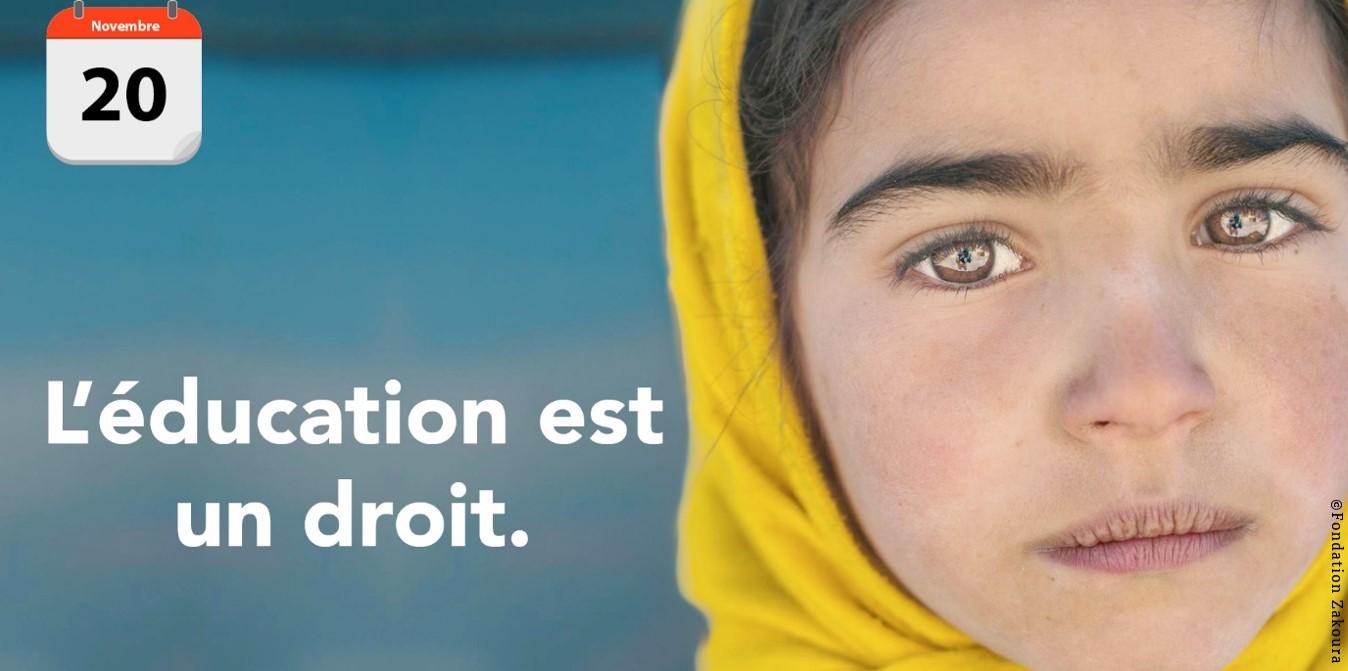 20 novembre –Journée internationale des droits de l'enfant