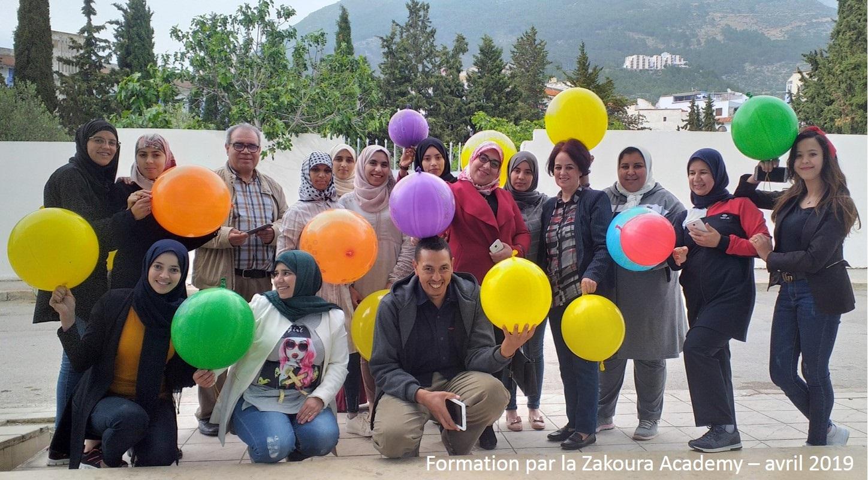 Vague intensive de formations à la Zakoura Academy