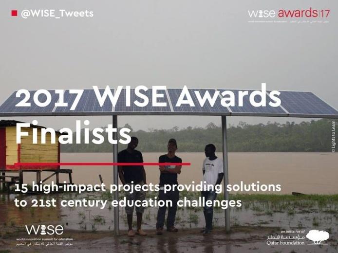 La Fondation Zakoura parmi les 15 finalistes WISE !