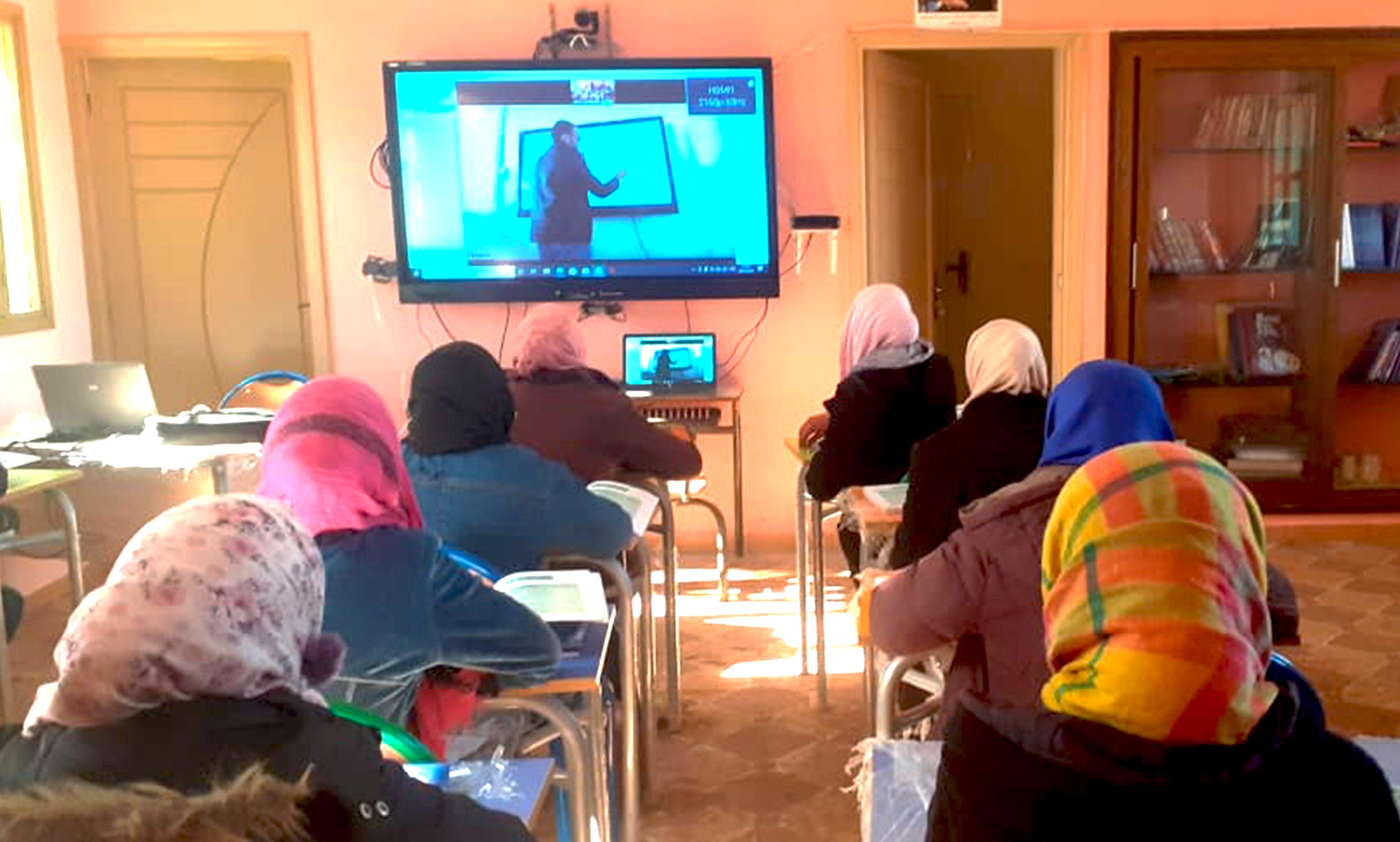 1er COllège Rural numérique de Proximité au Maroc