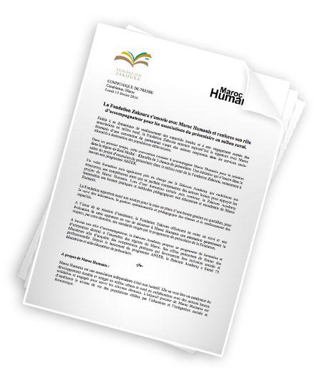 Maroc Humanis et la Fondation Zakoura signent une convention de partenariat