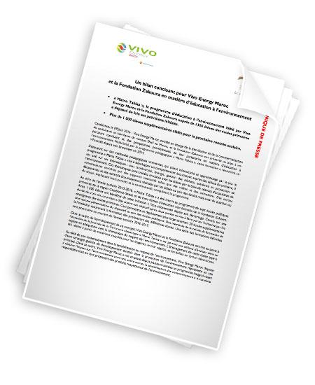 Un bilan concluant pour Vivo Energy Maroc et la Fondation Zakoura en matière d'éducation à l'environnement