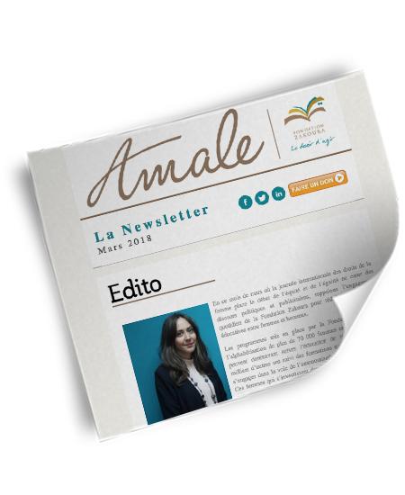 Newsletter Amale - Mars 2018