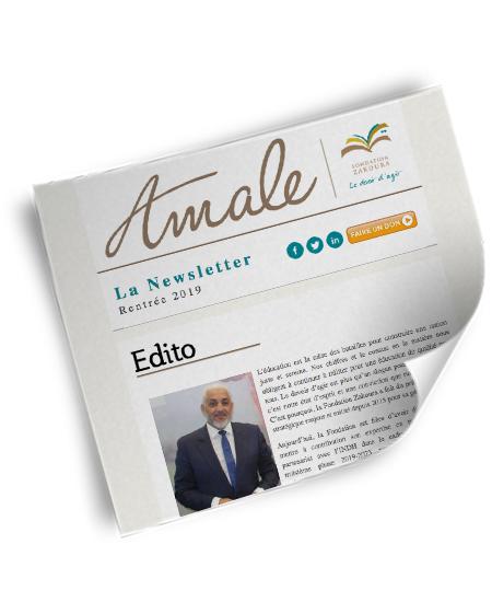 Newsletter Amale - Rentrée 2019