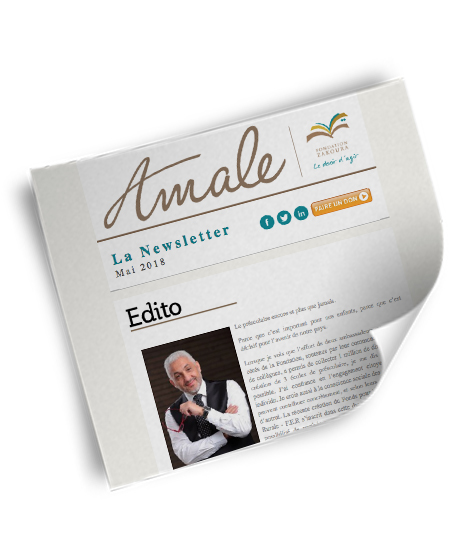 Newsletter Amale - Mai 2018
