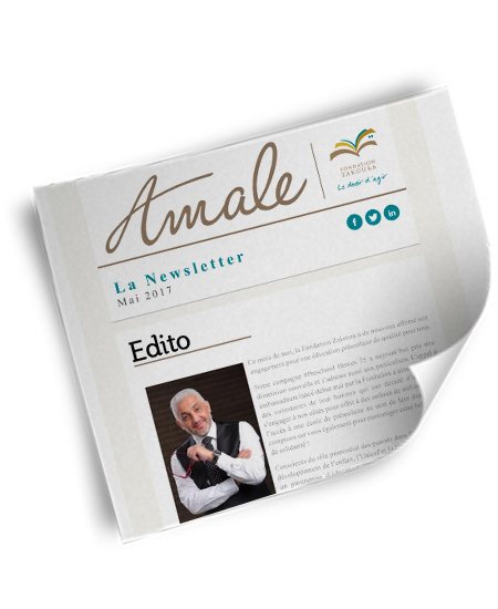 Newsletter Amale – Mai 2017