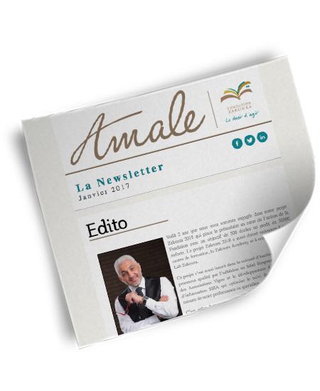 Newsletter Amale - Janv 2017