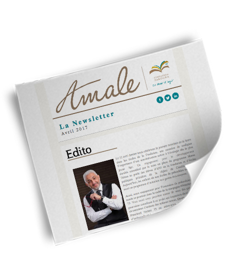 Newsletter Amale - Avril 2017