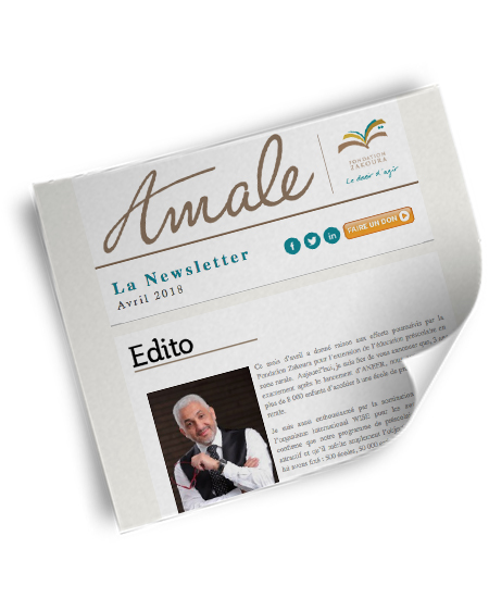 Newsletter Amale - Avril 2018
