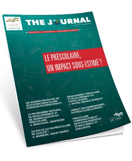 The Journal - Edition n°1 - préscolaire