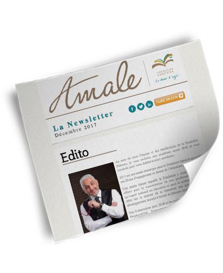 Newsletter Amale – Déc 2017