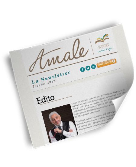 Newsletter Amale – Janv 2018