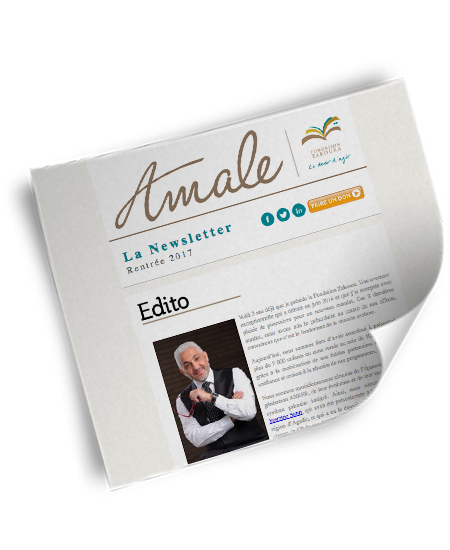 Newsletter Amale – Rentrée 2017