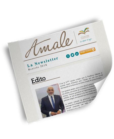 Newsletter Amale - Rentrée 2018