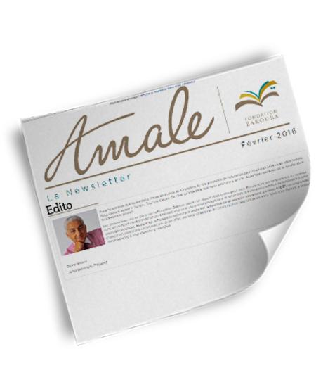 Newsletter Amale – Fév 2016