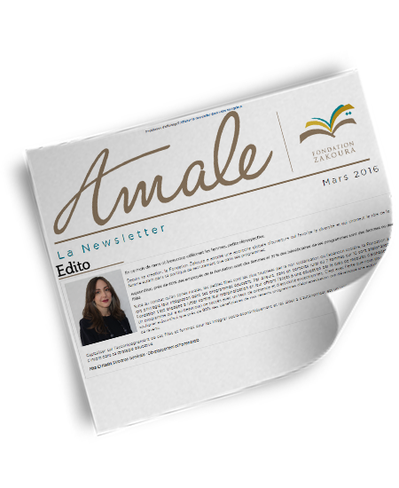 Newsletter Amale – Mars 2016