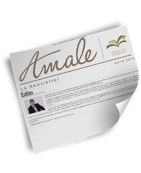 Newsletter Amale – Avril 2016