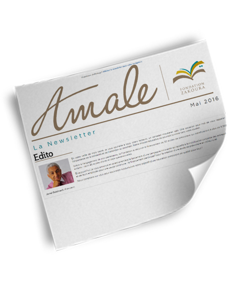 Newsletter Amale – Mai 2016