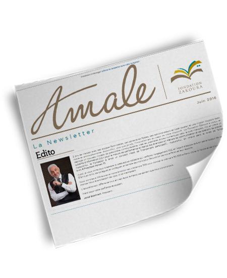 Newsletter Amale – Juin 2016
