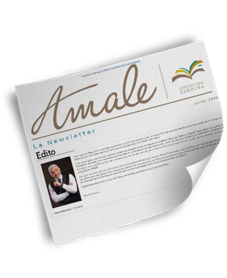 Newsletter Amale – Juillet 2016